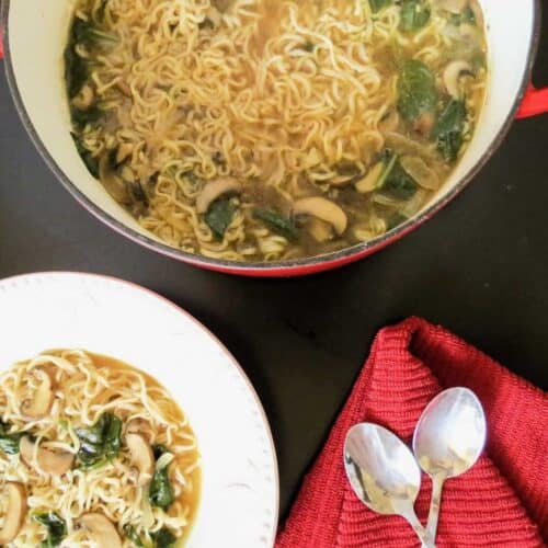 Hot and Sour Vegetable Ramen