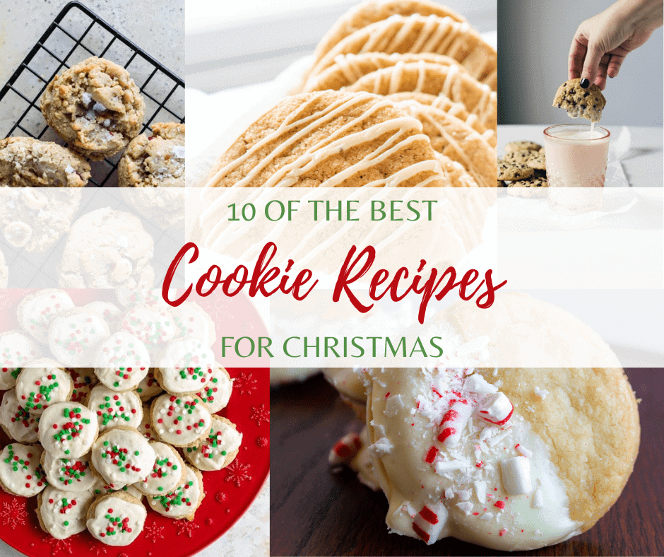 10 of the Best Cookie Recipes for Christmas by Saporito Kitchen